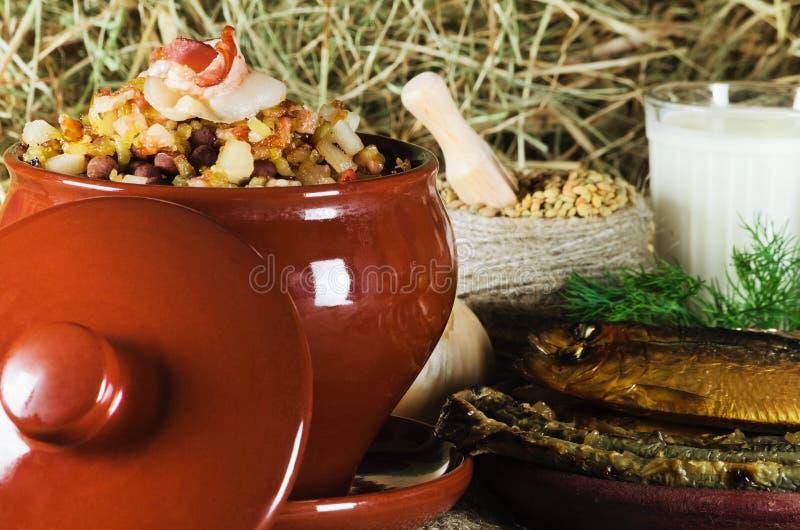 Alimento letão imagens de stock