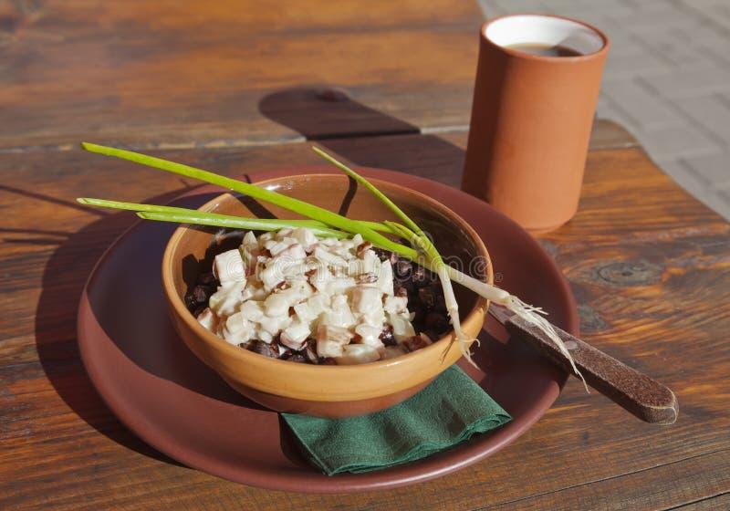 Alimento letão nacional foto de stock