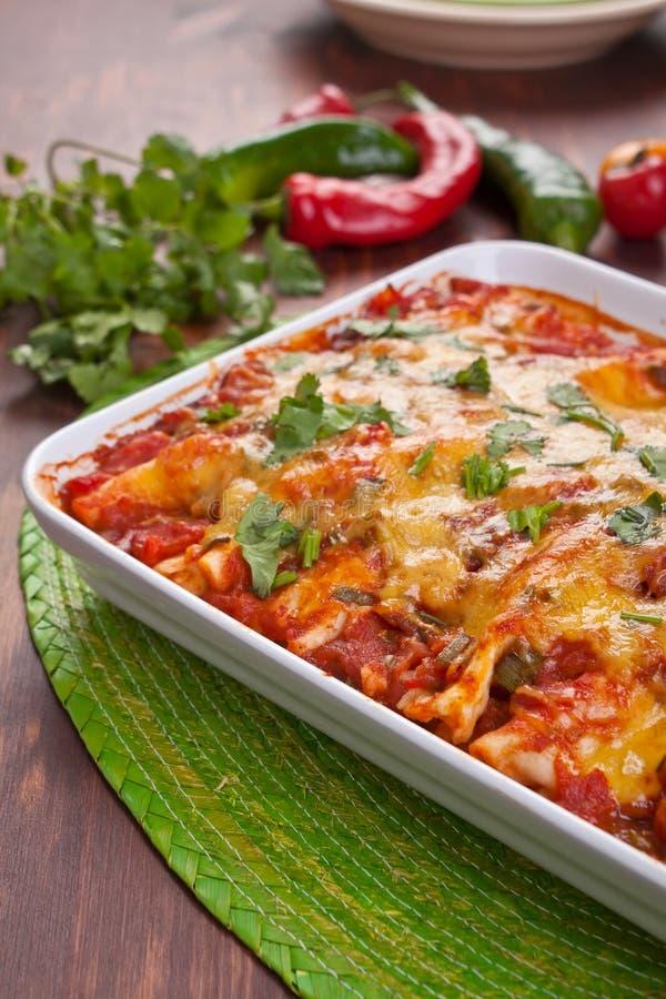 Alimento messicano tradizionale Colourful immagini stock libere da diritti