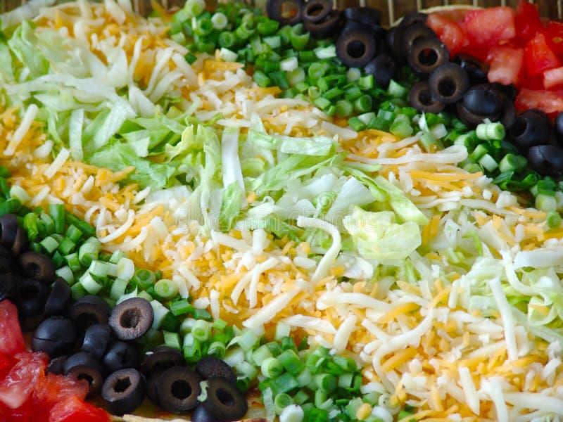 Alimento mexicano fotografía de archivo