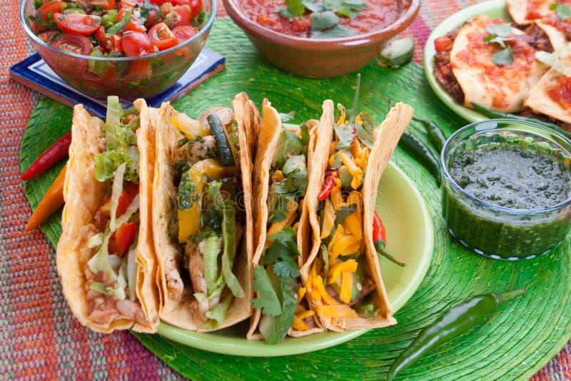 Alimento mexicano tradicional imagens de stock