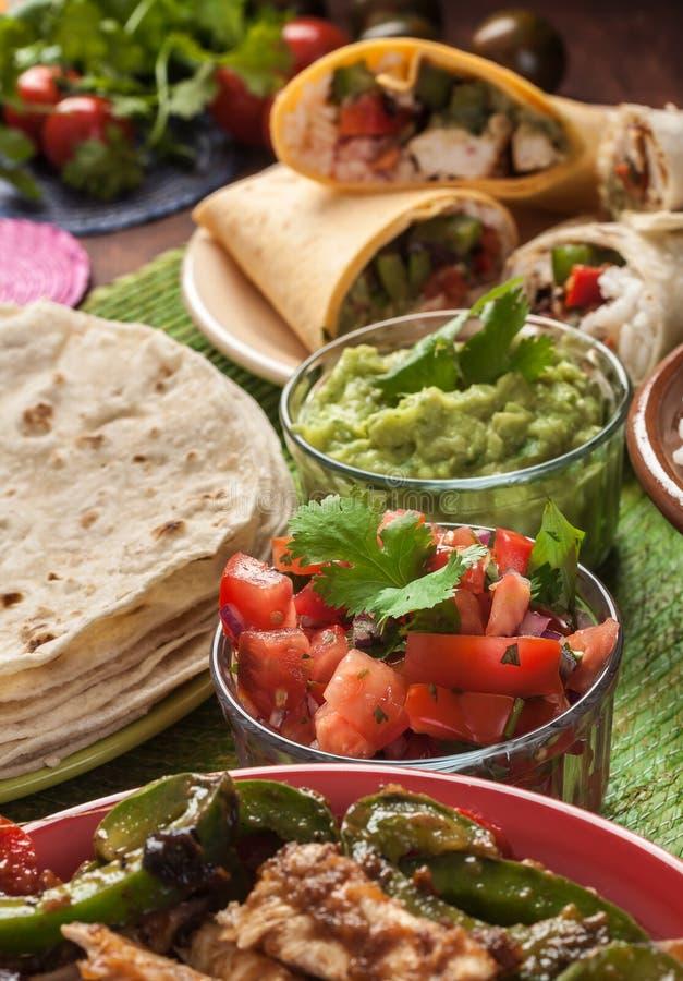 Alimento mexicano tradicional fotografia de stock royalty free