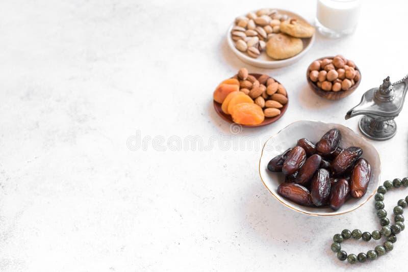 Alimento musulmano di Iftar fotografia stock