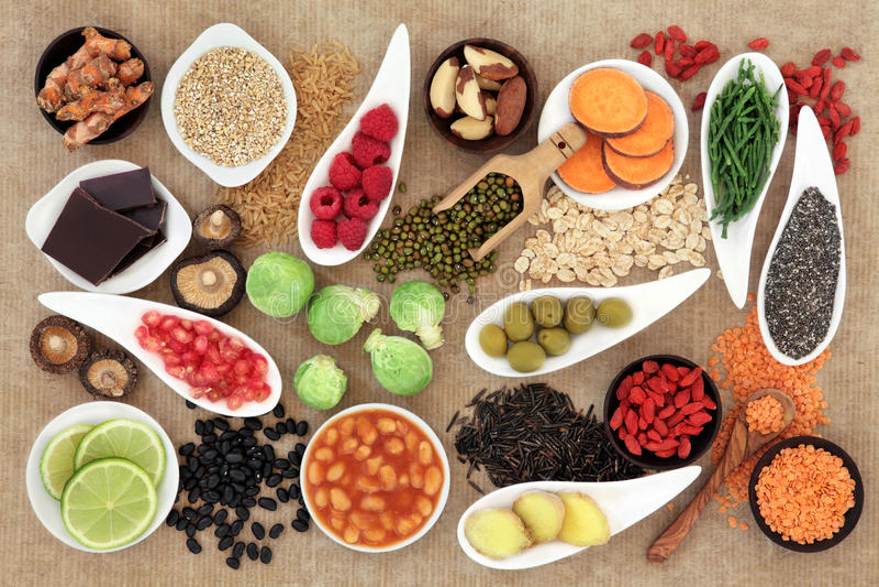 Alimento natural fotografia de stock royalty free