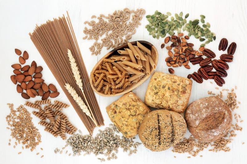 Alimento natural alto da fibra imagem de stock royalty free