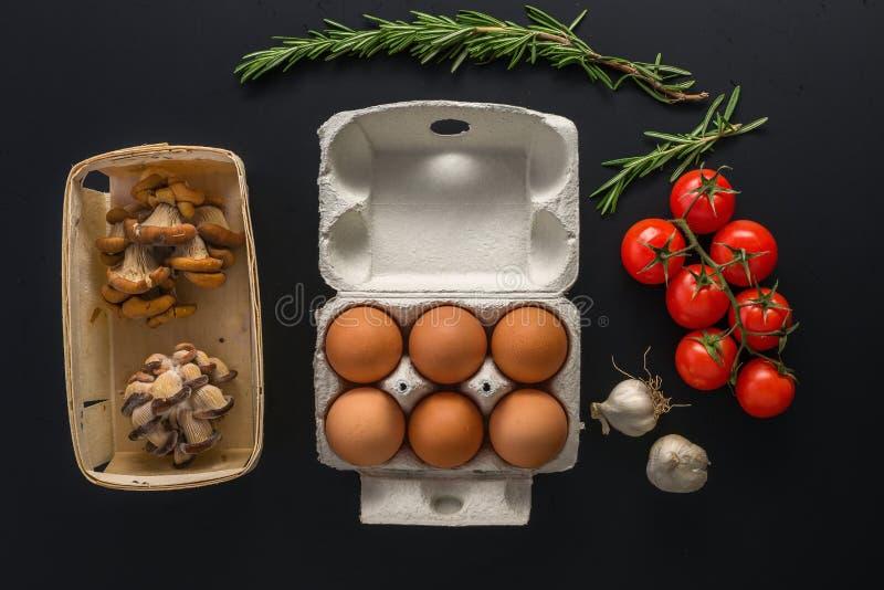 Alimento natural, cozinhando o conceito imagem de stock royalty free
