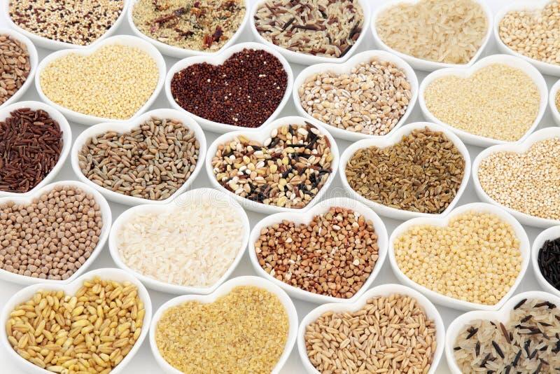 Alimento natural da grão imagens de stock royalty free