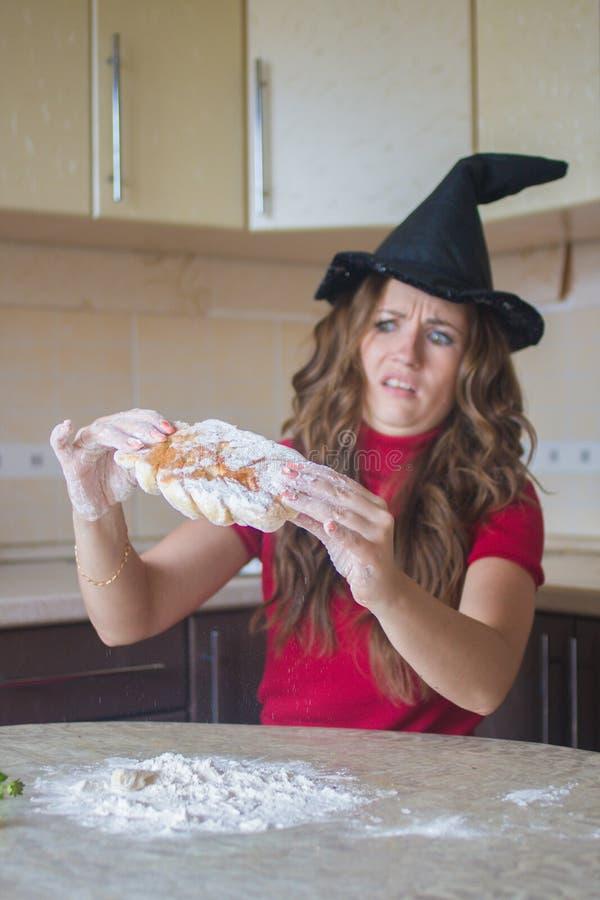 Alimento para Dia das Bruxas Partido de Halloween imagens de stock royalty free