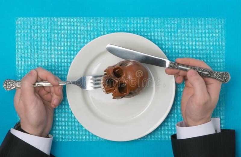 Alimento pericoloso immagine stock libera da diritti