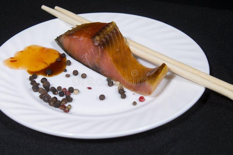 Alimento, piatto, bastoni, pepe, isolamento, immagini stock