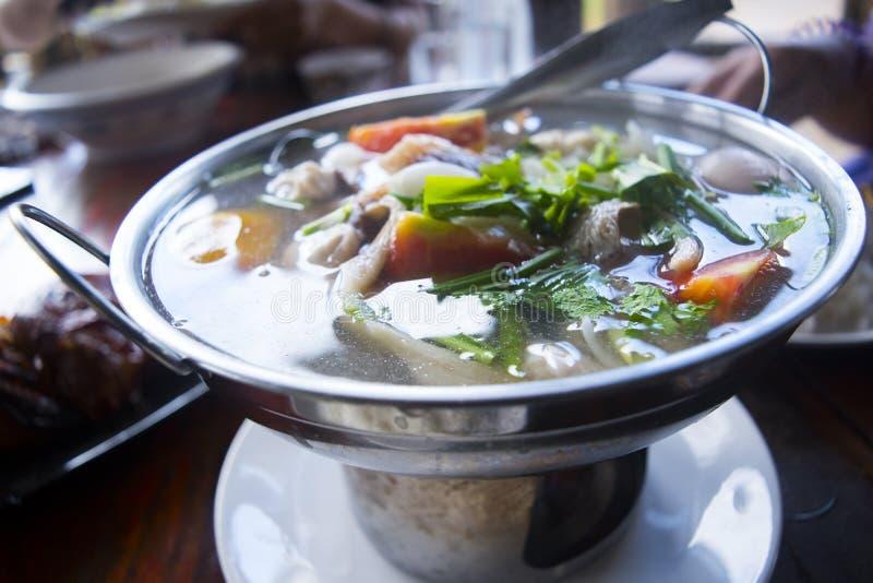 Alimento picante tailandés foto de archivo libre de regalías