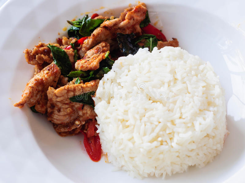 Alimento picante tailandês imagens de stock