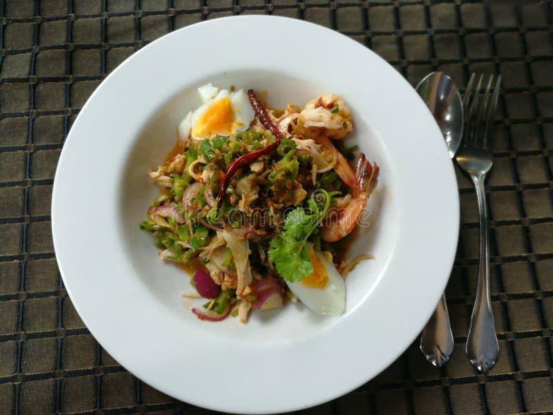 Alimento picante tailandês yum imagens de stock royalty free