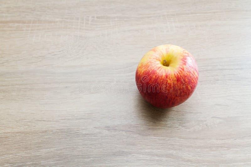 Alimento rosso giallo delle mele fotografie stock