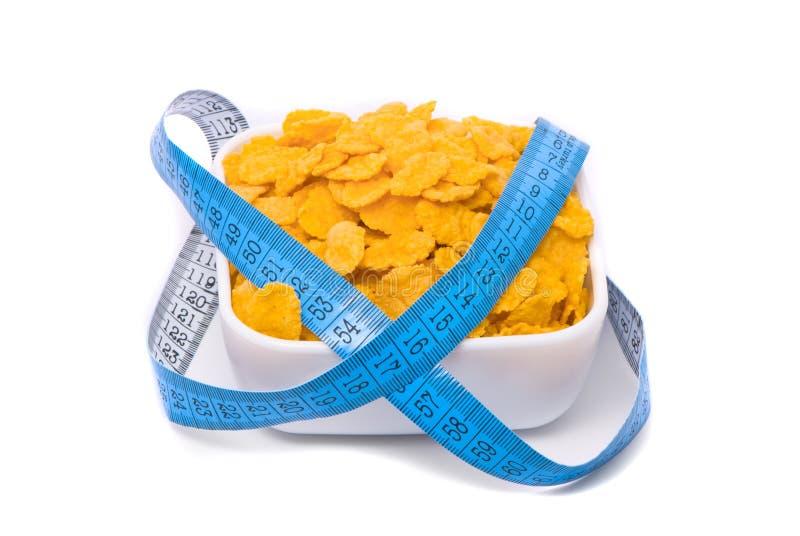 Alimento salutare. Fiocchi di avena. immagini stock