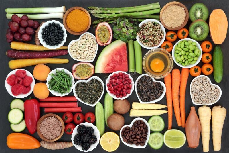 Alimento salutare per il cibo pulito immagine stock libera da diritti