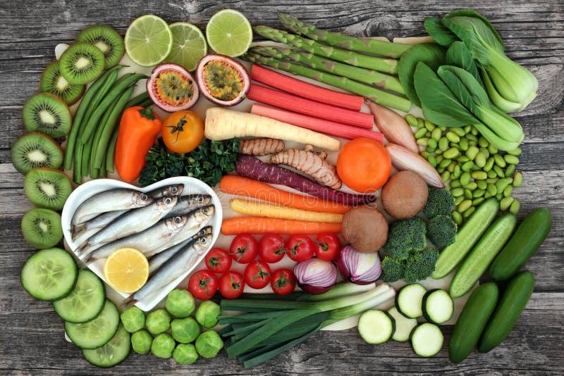 Alimento salutare per il cibo sano fotografie stock libere da diritti