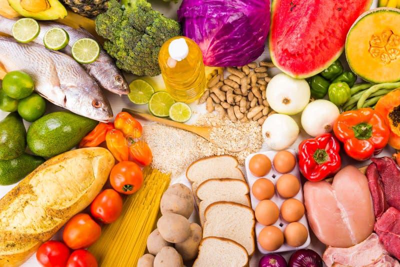 Alimento sano immagini stock
