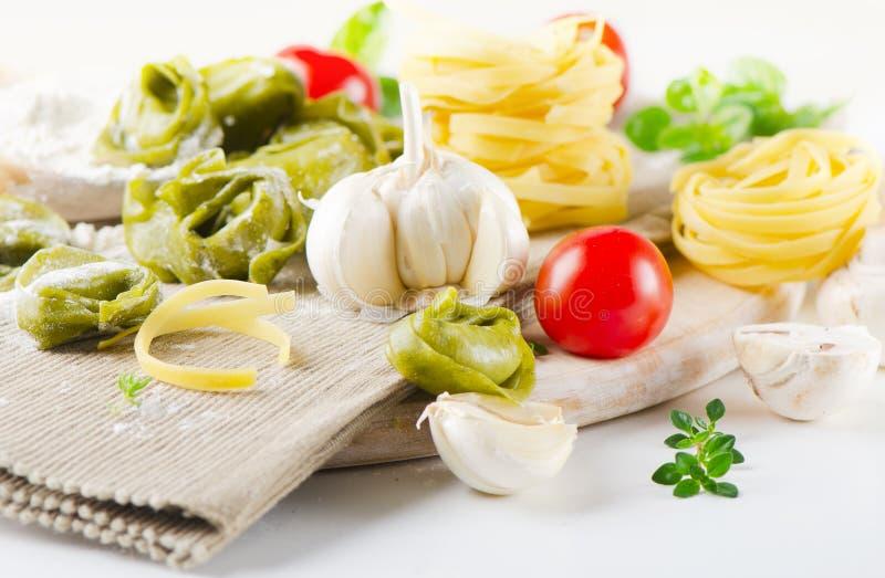 Alimento sano italiano fotografia stock libera da diritti