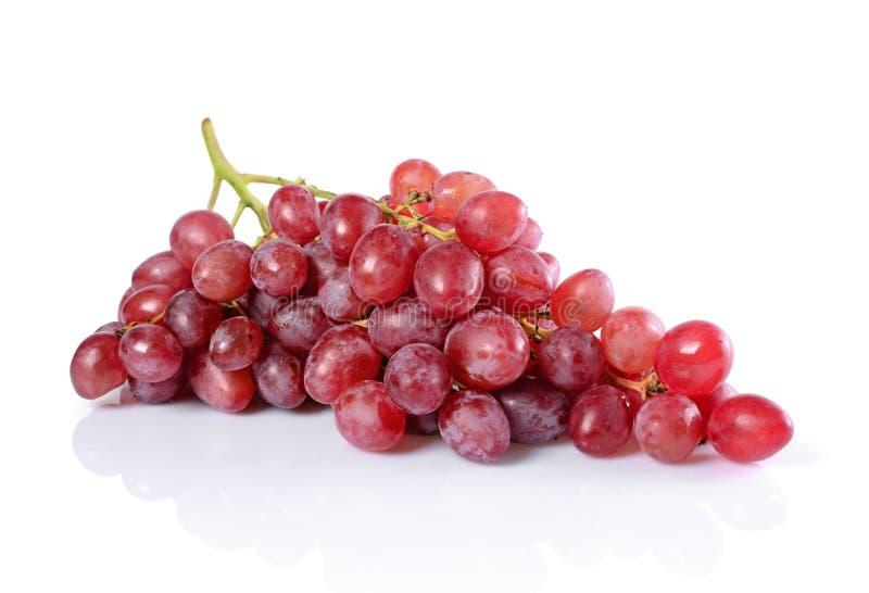 Alimento sano Manojo maduro fresco de la opinión del primer de uva imagenes de archivo