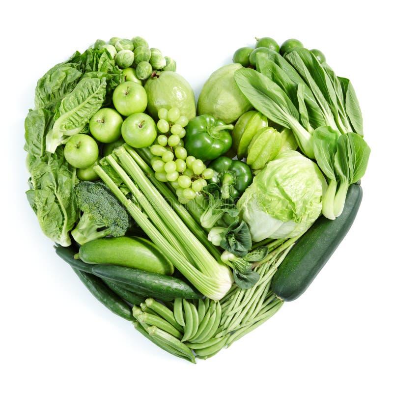 Alimento sano verde immagini stock libere da diritti
