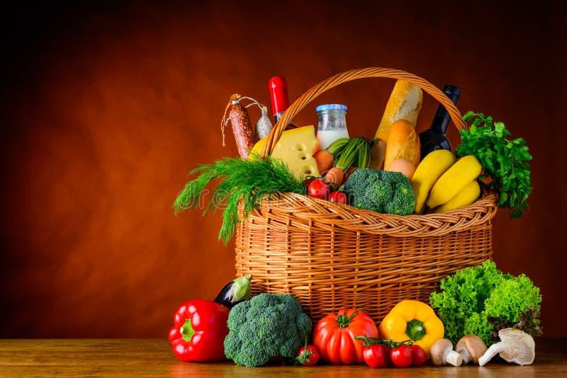 Alimento saudável com espaço da cópia fotos de stock royalty free
