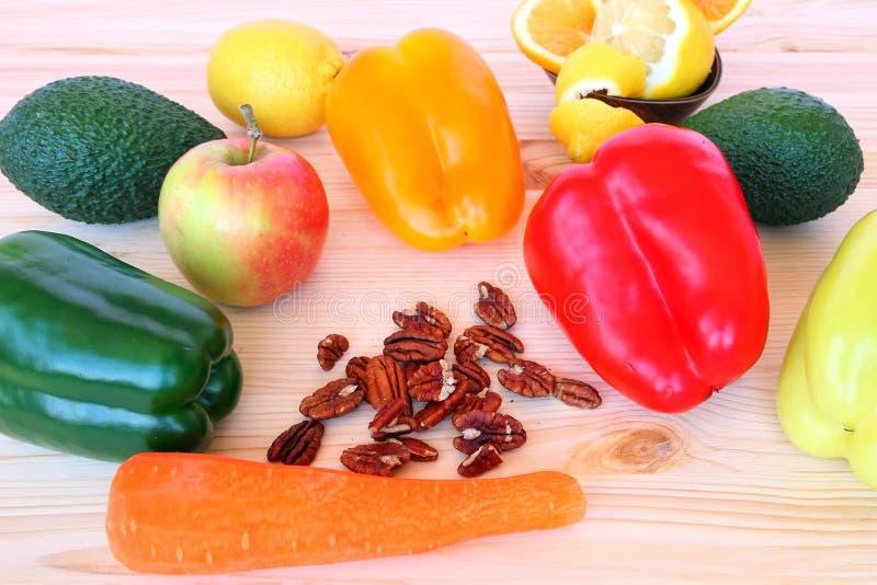 Alimento saudável para o café da manhã ou a barraca foto de stock royalty free