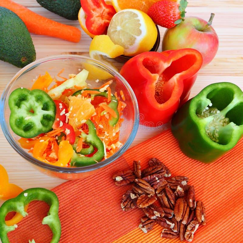 Alimento saudável - vida saudável fotos de stock