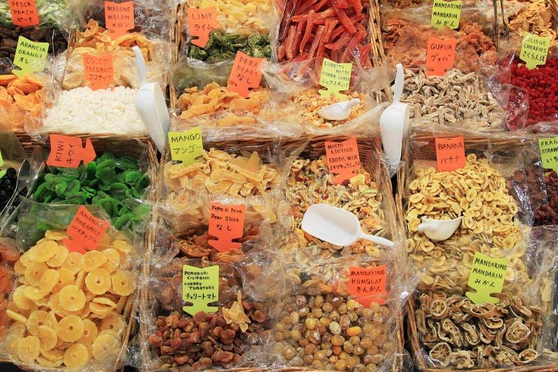 Alimento secado foto de archivo libre de regalías