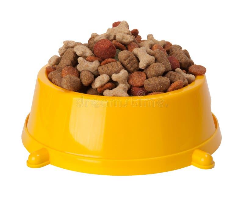 Alimento seco do cão fotografia de stock royalty free