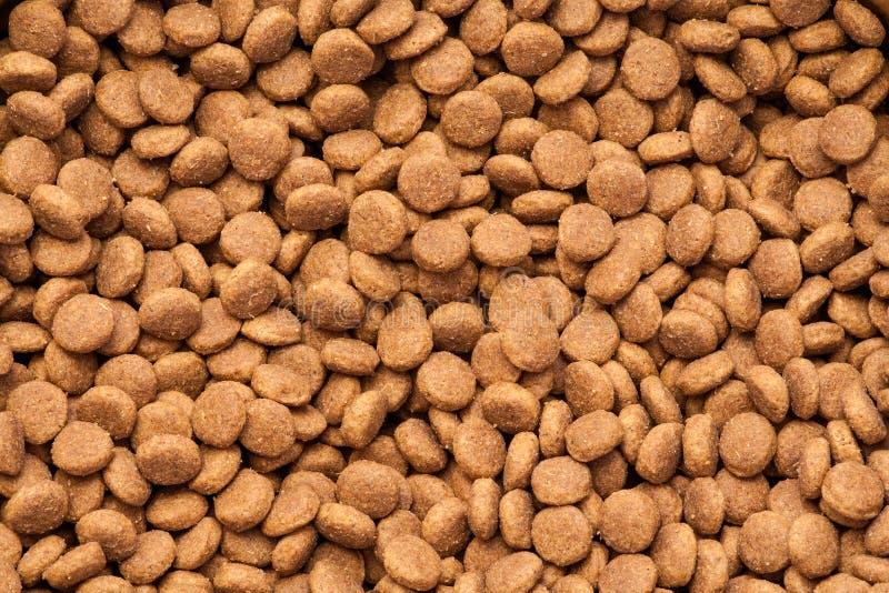 Alimento seco do cão fotos de stock