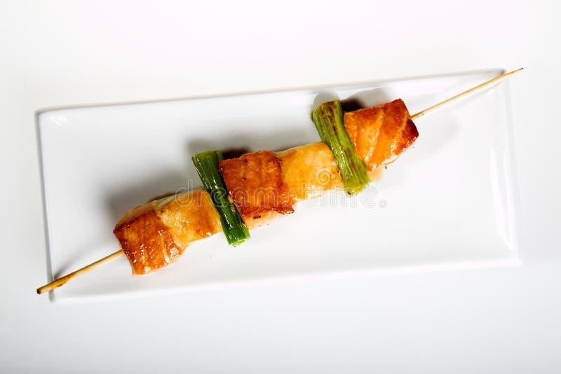 Alimento - shashlik fotografia de stock
