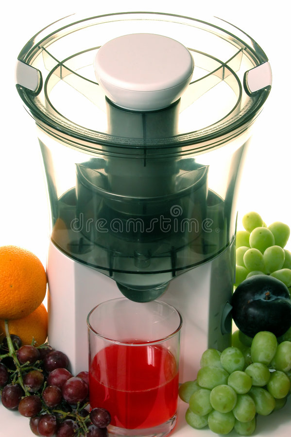 Alimento: Suco De Fruta Mixa Fotografia de Stock Royalty Free