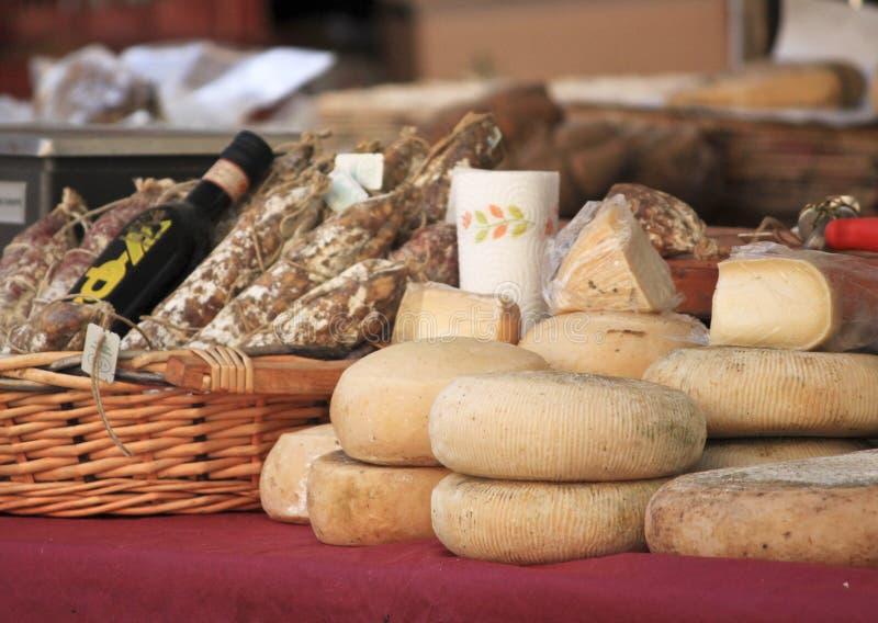Alimento típico do italiano fotografia de stock