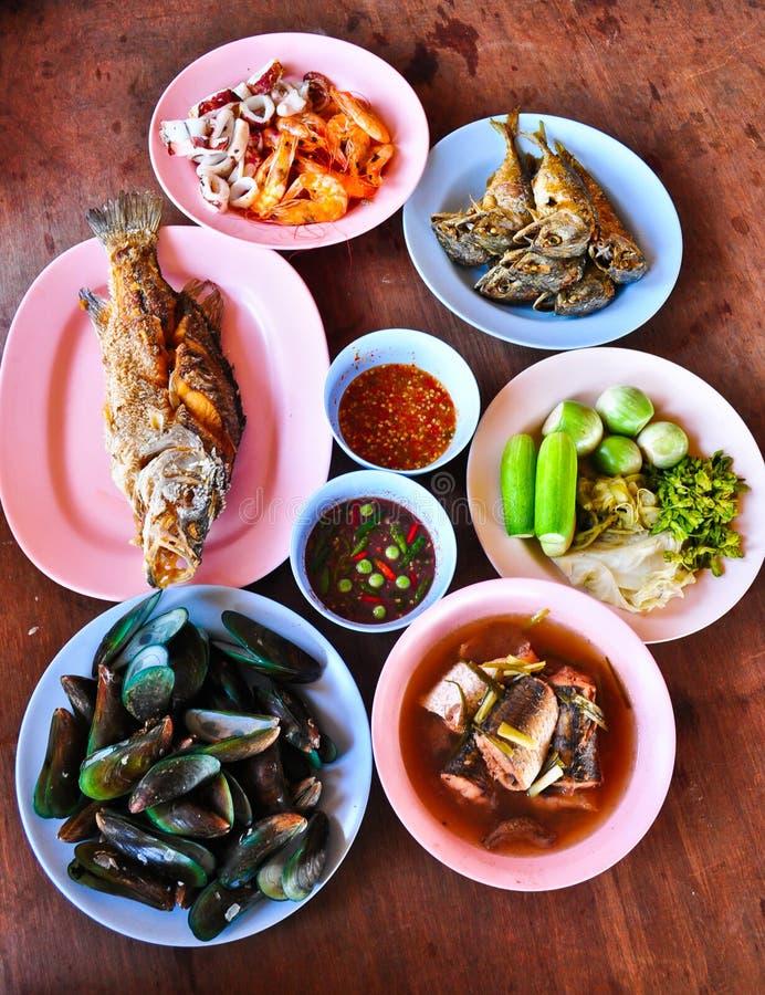 Alimento tailandés foto de archivo libre de regalías
