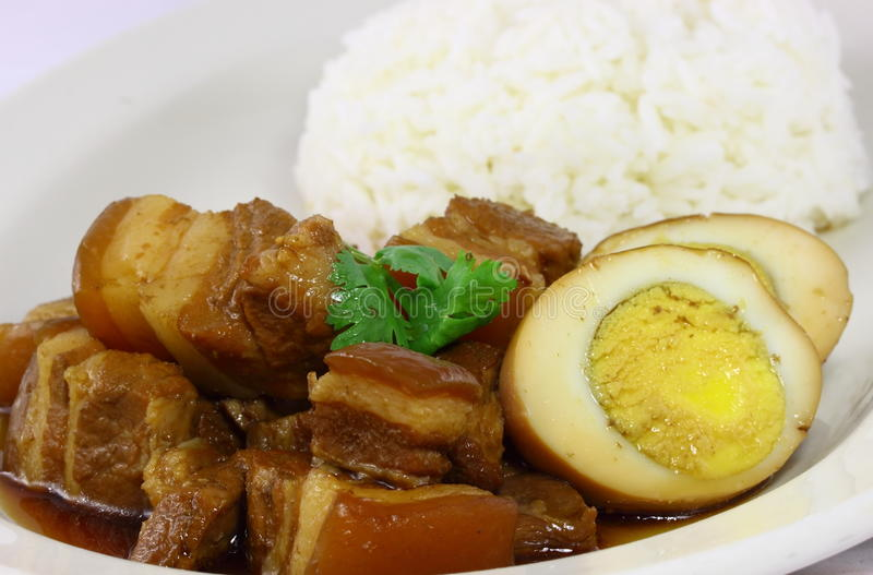Alimento tailandés asombroso fotografía de archivo