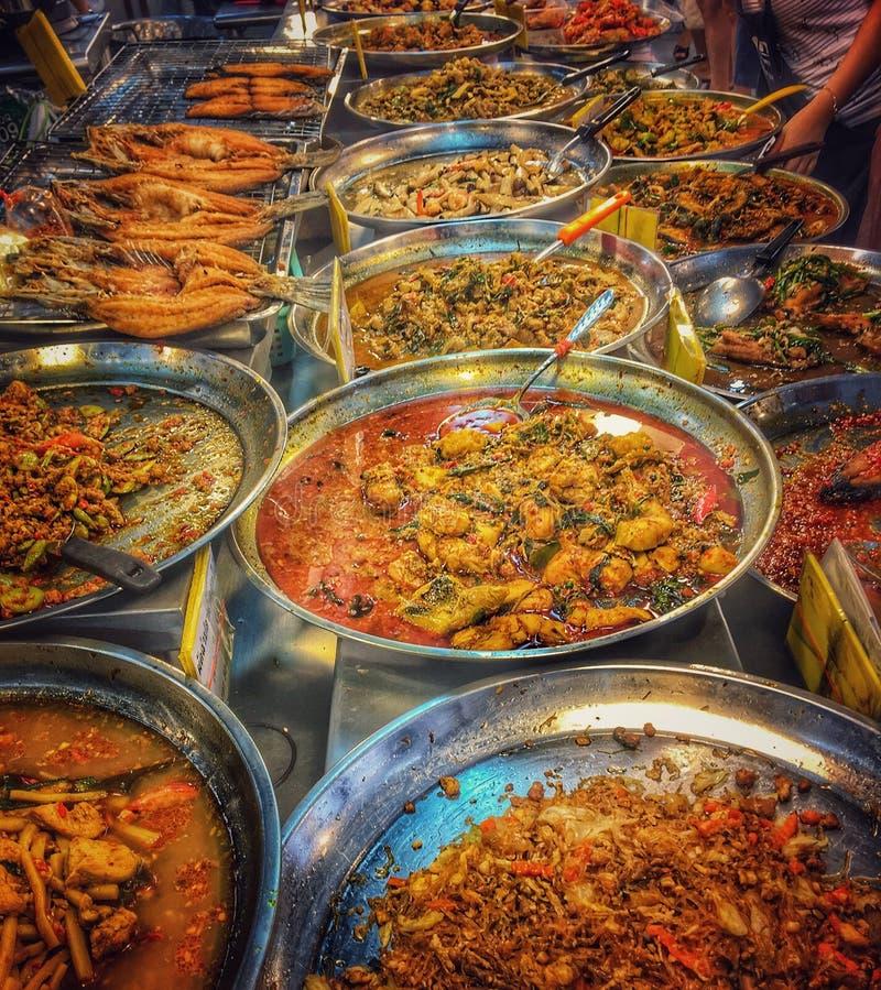 Alimento tailandés de la calle foto de archivo libre de regalías