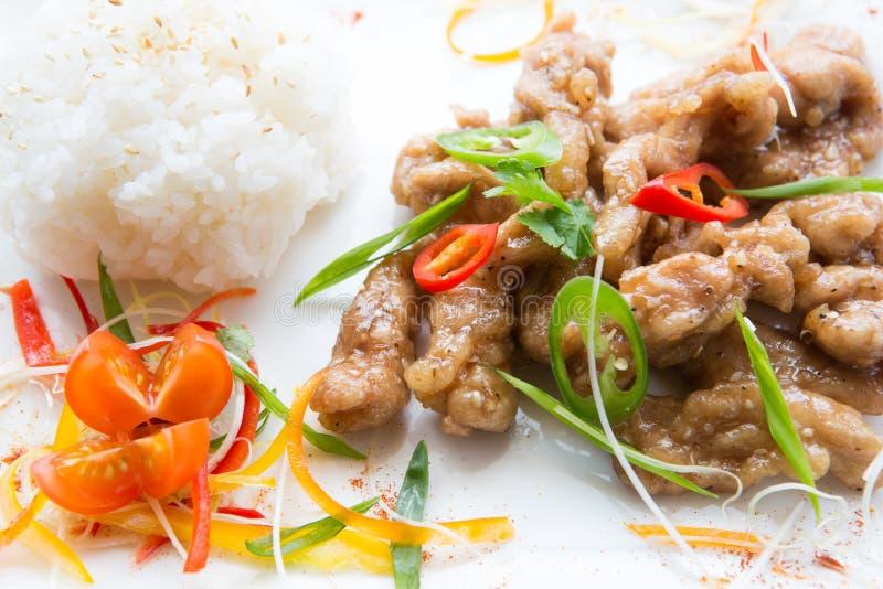 Alimento tailandés fresco imagen de archivo libre de regalías