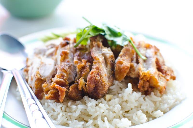 Alimento tailandês da galinha. imagens de stock
