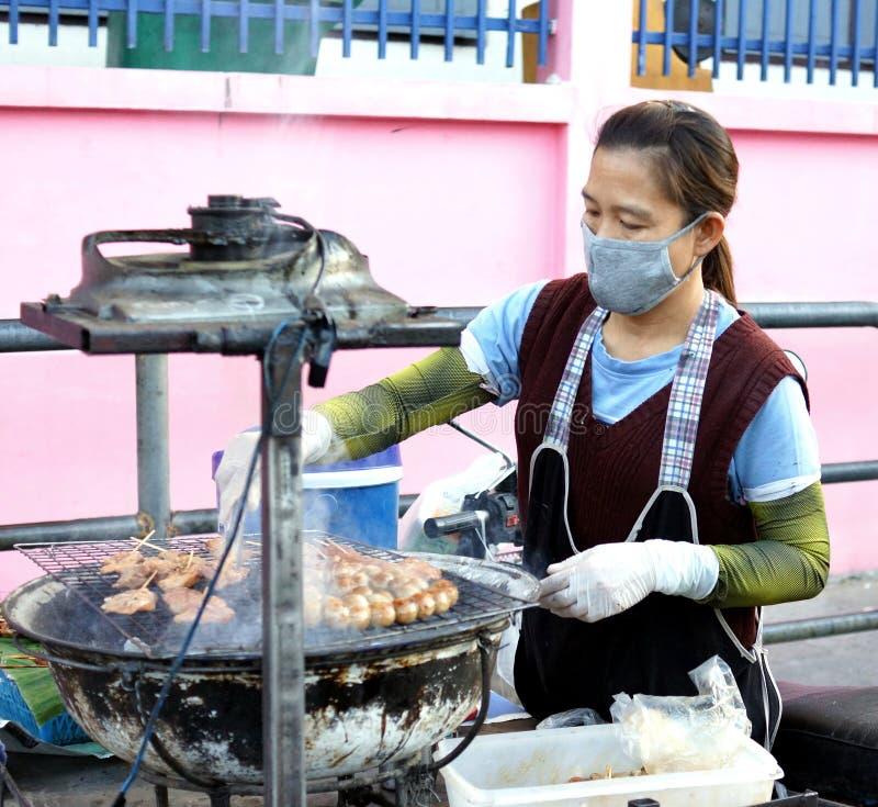 Alimento tailandês da rua foto de stock royalty free