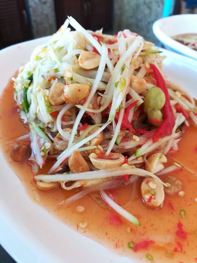 Alimento tailandês - fritada #6 do Stir imagem de stock royalty free