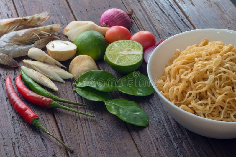 Alimento, alimento tailandês, fundo foto de stock royalty free