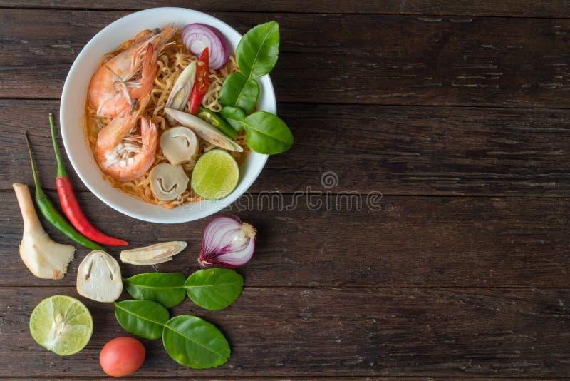 Alimento, alimento tailandês, fundo imagem de stock