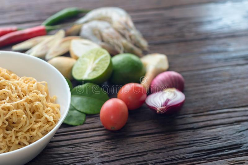 Alimento, alimento tailandês, fundo foto de stock