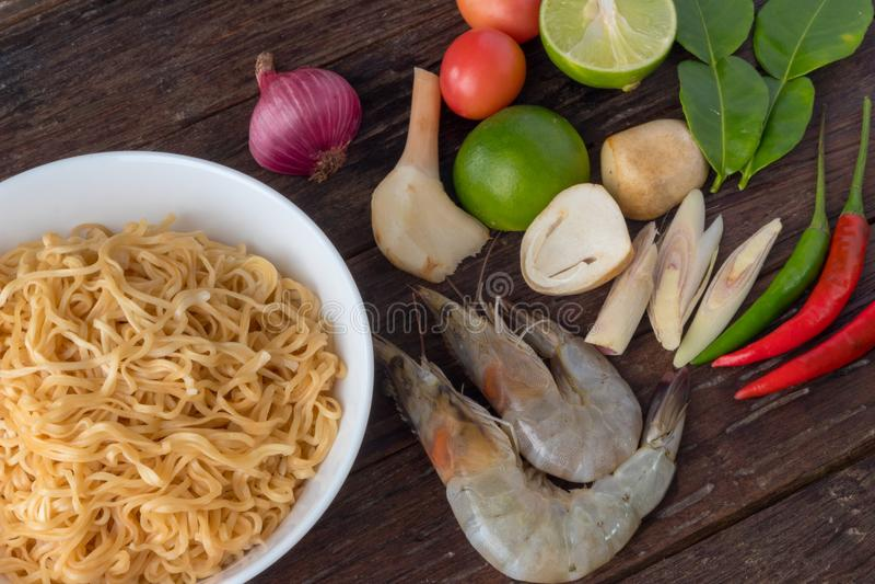 Alimento, alimento tailandês, fundo imagem de stock royalty free