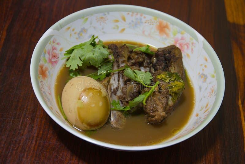 Alimento tailandês, Khaipalo foto de stock