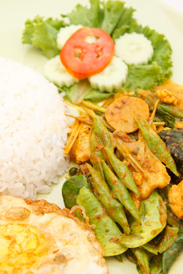 Alimento tailandês picante fotos de stock royalty free