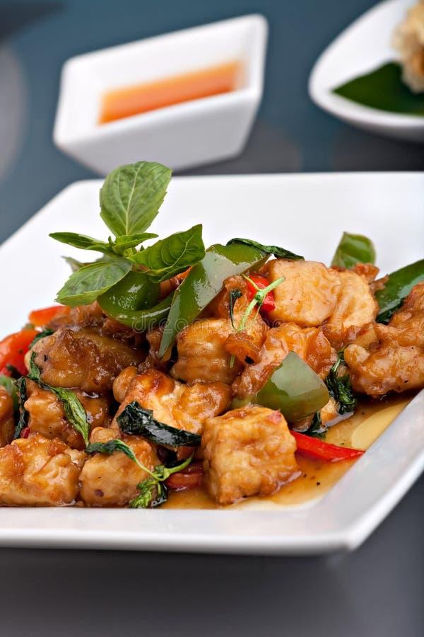 Alimento tailandês picante imagens de stock