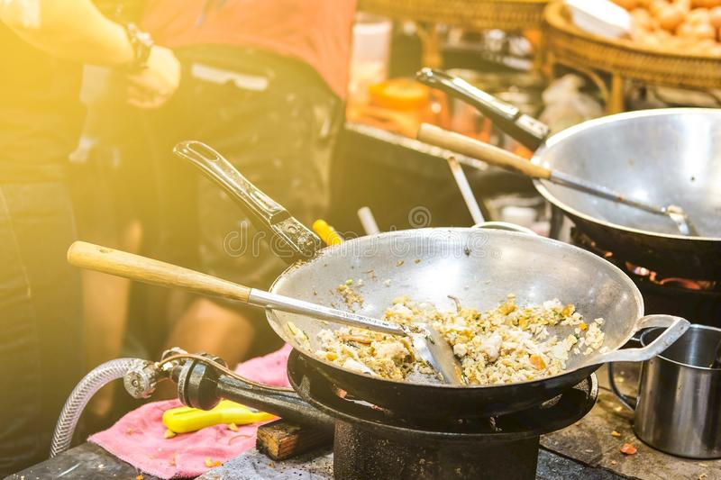 Alimento tailand?s de la calle imagen de archivo libre de regalías