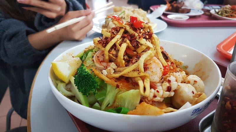 Alimento tailand?s - fritada #6 do Stir imagens de stock